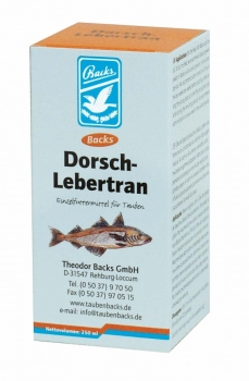 Backs Dorsch-Lebertran 250 ml