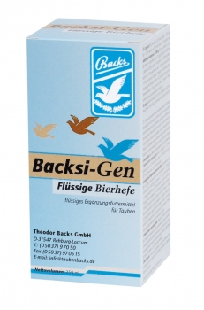 Backs BacksiGen, flüssige Bierhefe 250 ml