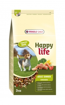 Versele-Laga HappyLife Adult Chicken Dinner 3 kg