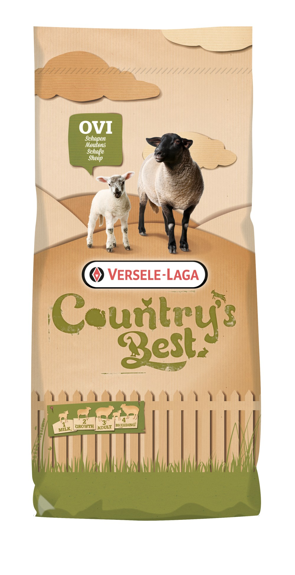 Versele-laga Countrys Best Ovi Allround 3 Pellet 20 kg