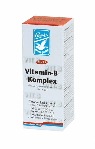Backs Vitamin B Komplex 100 ml