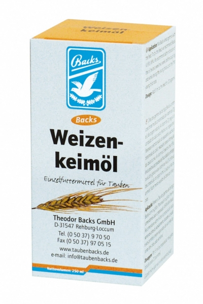 Backs Weizenkeimöl 250 ml