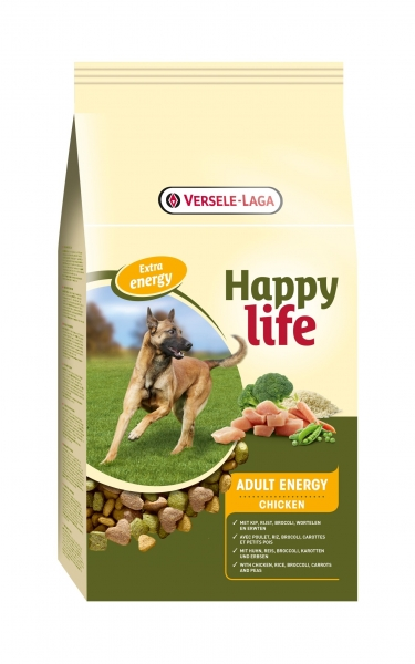 Versele-Laga HappyLife Adult Chicken Energy 15 kg