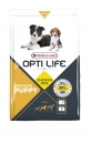 Opti Life Puppy Medium Hundefutter 2,5 kg